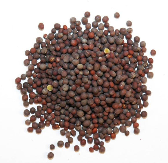 Whole Black Mustard Seed - 96 Oz.