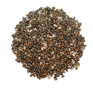 Chia Seeds, Black Whole - 36 Oz.