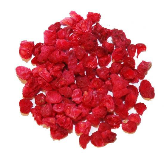Freeze Dried Granulated Raspberries - 7 Oz.