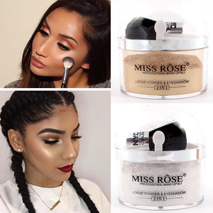 2 in 1 highlighter and Eye Glow Up Contour Lit Kit - Beauty Fashion Hair Shop
