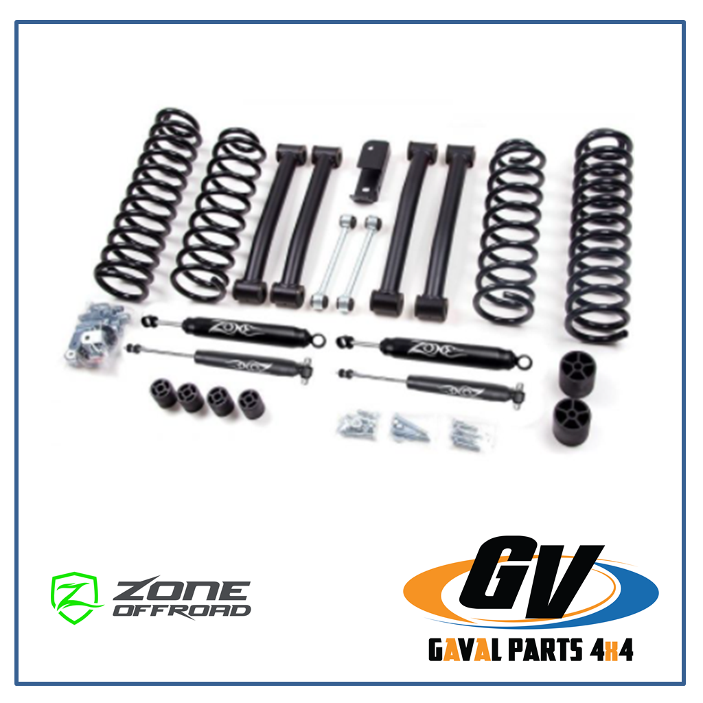 Kit de suspension Zone Off Road +4 in para Jeep Gand Cherokee ZJ 93-98, J16N