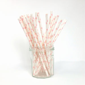 Eco-friendly paper straws for your party or wedding