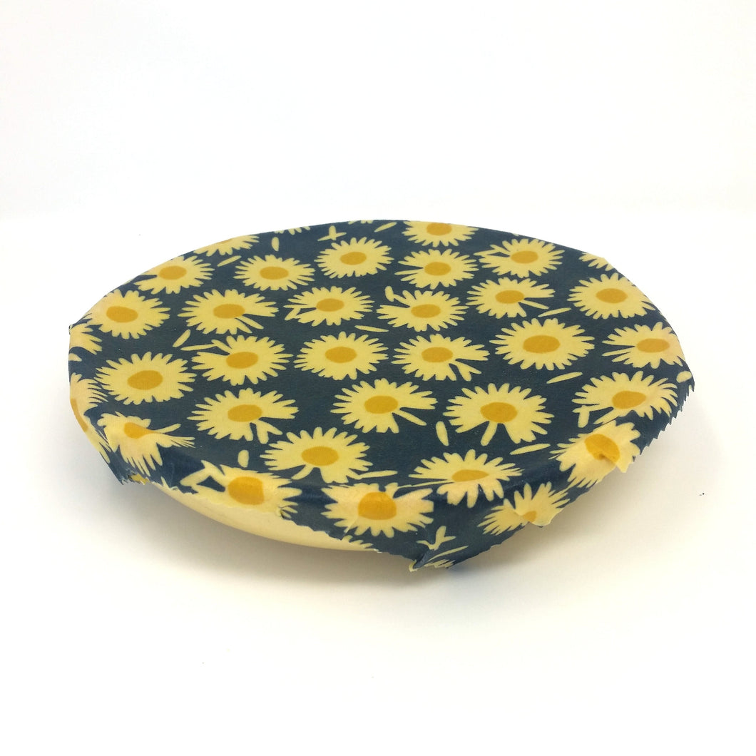Reusable Beeswax wrap eco friendly food wrap, Zero waste, floral print, unique gift for her