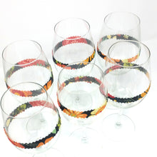 Zero waste wine glass markers, eco friendly and reusable decorations