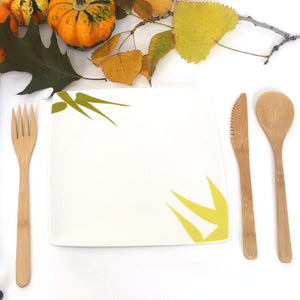 Zero Waste Bamboo Cutlery Kit for eco friendly travel and lunches on the go