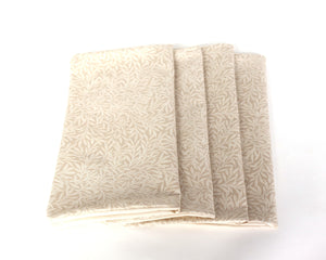 Beautiful reusable napkin set for dinner, gorgeous fall napkins, reusable eco friendly napkins