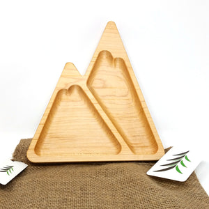 Timber Child Plate - Mountain - Atessa