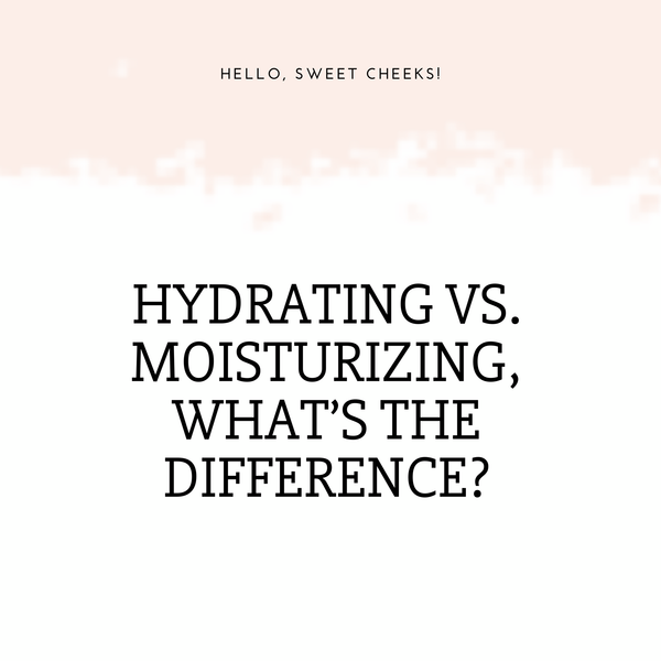 Hydrating vs. Moisturizing, Which One Do I Need??