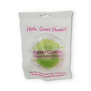 Sweet Cheeks Organic Konjac & Aloe Skin Polisher