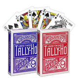 Tally-Ho Playing Card Deck - Fan Back