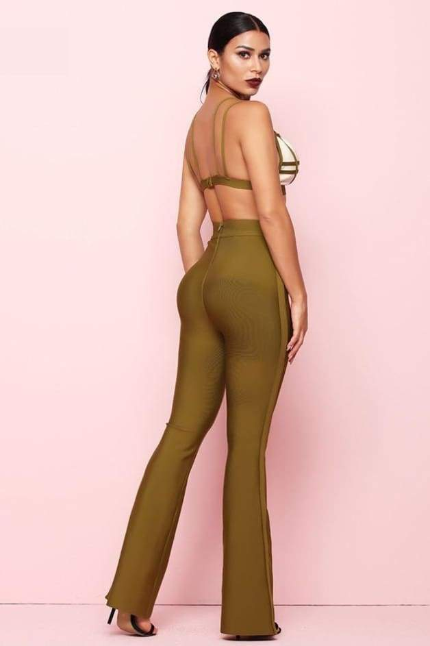 Fancy 2Pc Bandage Jumpsuit