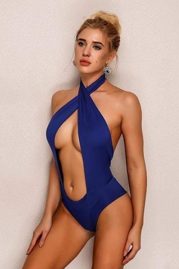'JETSETTER' Cut-Out Monokini