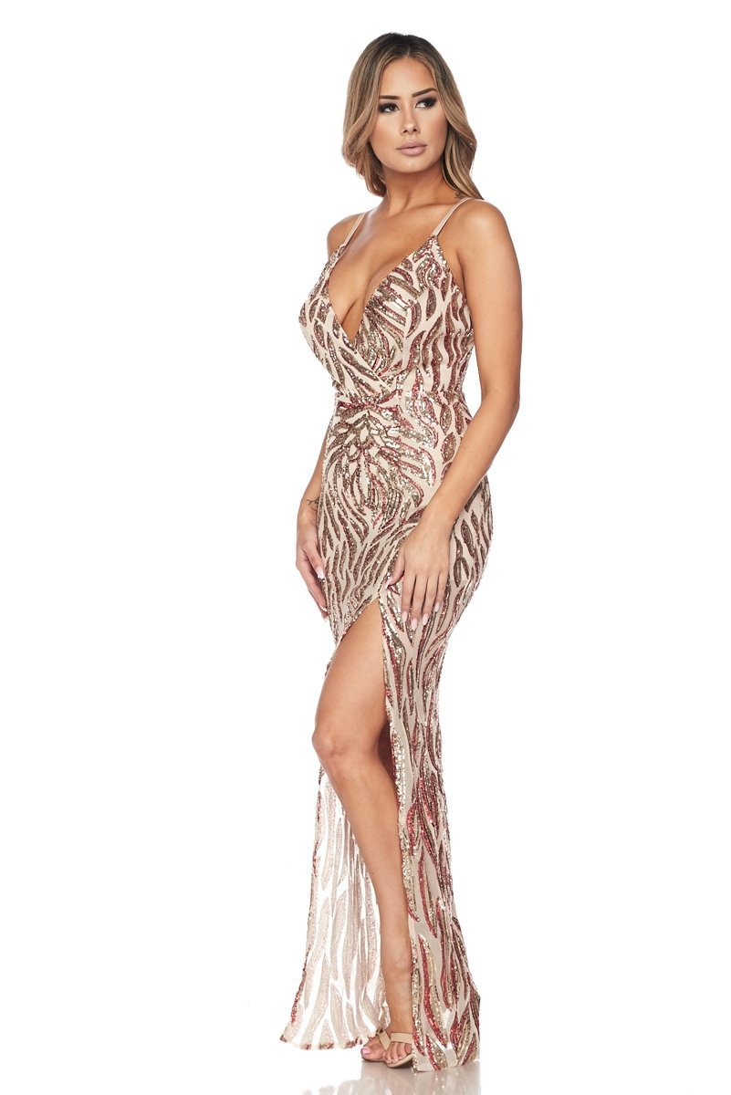 Blasia Sequin Maxi Dress