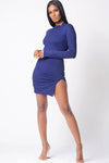 Poison Turtleneck Dress - S