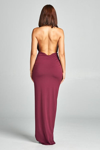 Rivera Open Back Maxi Dress