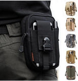 Mens Accessories Belt Pack Backpack Tactical Mini Canvas Bags