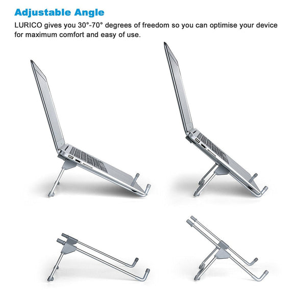 Folding Portable Laptop Stand Viewing Angle/Height Adjustable