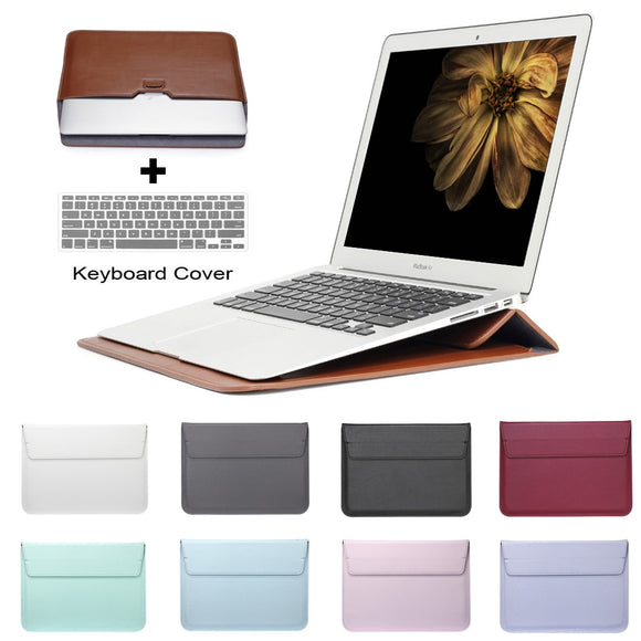 Leather Mail Sack Sleeve For Macbook Air 13 Pro Retina 11 12 13 15