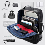 USB External Charge 15.6 Inch Anti-theft Waterproof Laptop Backpack
