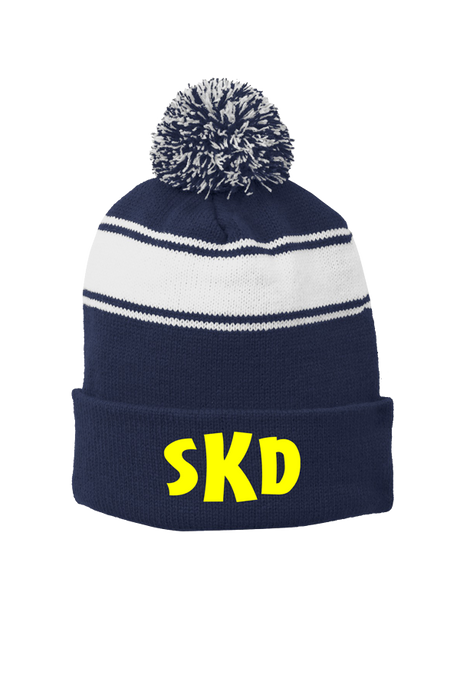 KNIT HAT WITH LOGO