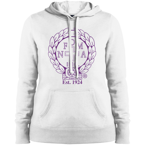 NFD&MA LST254 Sport-Tek Ladies' Pullover Hooded Sweatshirt