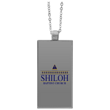 Shiloh Baptist Church UN4682 Rectangle Necklace