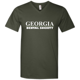Georgia Dental Society (GDS) 982 Anvil Men's Printed V-Neck T-Shirt