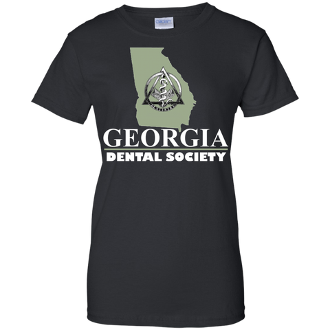 Georgia Dental Society (GDS) G200L Gildan Ladies' 100% Cotton T-Shirt