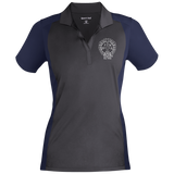 NFD&MA LST652 Sport-Tek Ladies' Colorblock Sport-Wick Polo