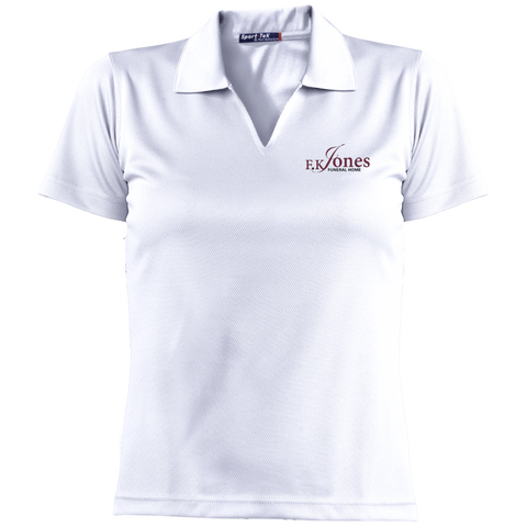 FK Jones Funeral Home L469 Sport-Tek Ladies' Dri-Mesh Short Sleeve Polo