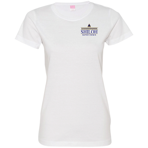Shiloh Baptist Church 3516 LAT Ladies' Fine Jersey T-Shirt