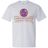 Lavenders Funeral Service 5180 Hanes Beefy T-Shirt