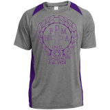 NFD&MA ST361 Sport-Tek Heather Colorblock Poly T-Shirt