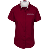 AFD&MA AFD&MA L508 Port Authority Ladies' Short Sleeve Easy Care Shirt
