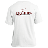 FK Jones Funeral Home USA100 Port & Co. Made in the USA Unisex T-Shirt
