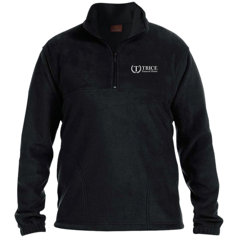 Trice Funeral Home M980 Harriton 1/4 Zip Fleece Pullover