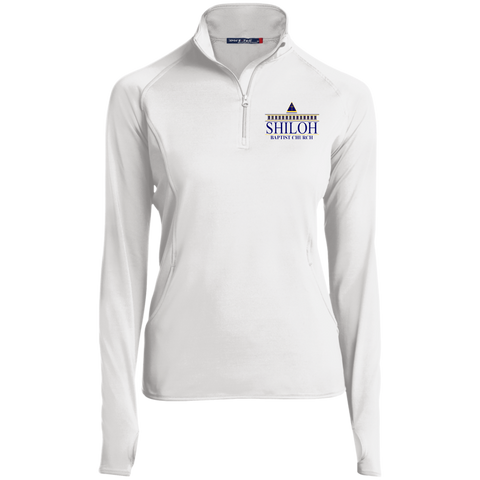 Shiloh Baptist Church LST850 Sport-Tek Women's 1/2 Zip Performance Pullover