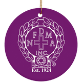 NFD&MA SUBORNC Ceramic Circle Ornament