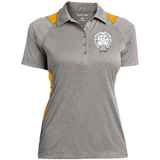 NFD&MA LST665 Sport-Tek Ladies' Heather Moisture Wicking Polo