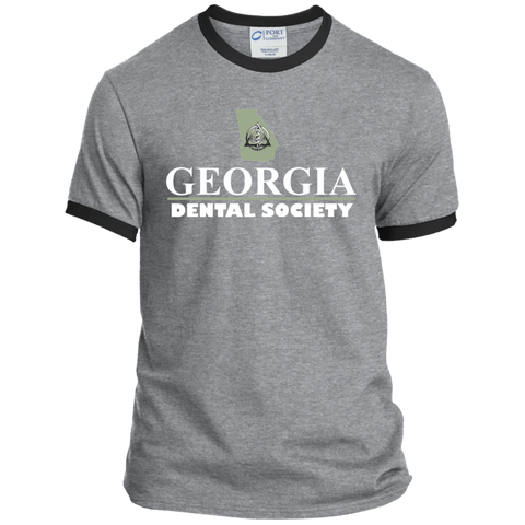 Georgia Dental Society (GDS) PC54R Port & Co. Ringer Tee