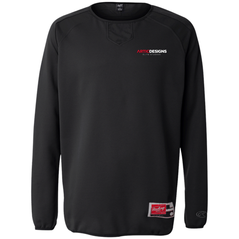Artic Designs 9705 Rawlings® Flatback Mesh Fleece Pullover
