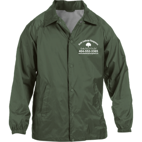 Burke Landscape Management M775 Harriton Nylon Staff Jacket