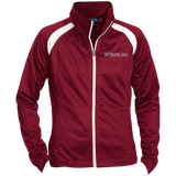 AFD&MA LST90 Sport-Tek Ladies' Raglan Sleeve Warmup Jacket