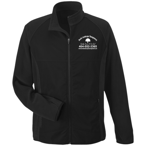 Burke Landscape Management TT92 Team 365 Microfleece with Front Polyester Overlay