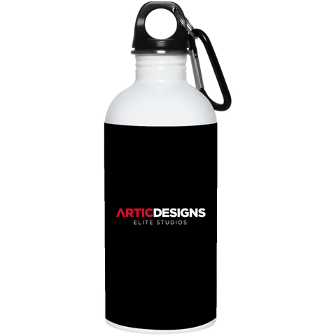 Artic Designs 23663 20 oz. Stainless Steel Water Bottle