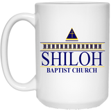 Shiloh Baptist Church 21504 15 oz. White Mug