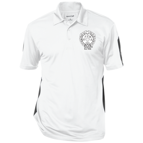 NFD&MA ST695 Sport-Tek Performance Textured Three-Button Polo