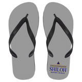 Shiloh Baptist Church 72030 Flip Flops - Large