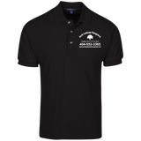 Burke Landscape Management K420 Port Authority Cotton Pique Knit Polo