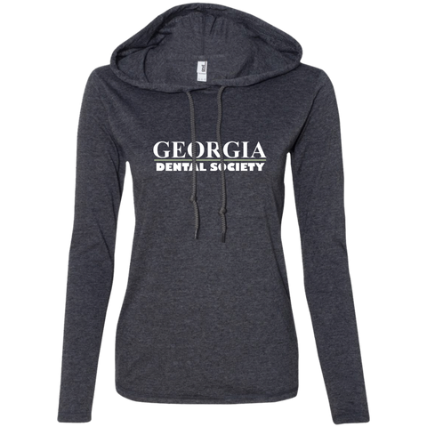 Georgia Dental Society (GDS) 887L Anvil Ladies' LS T-Shirt Hoodie